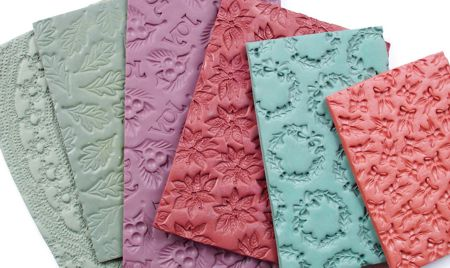 Текстурный лист для полимерной глины своими руками