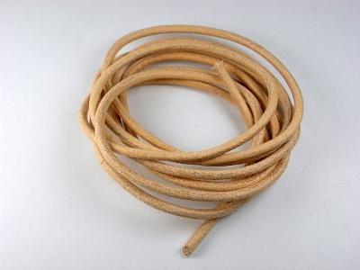 Как сделать круглый шнур из кожи своими руками
