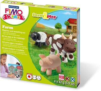 Набор для детей FIMO kids farm&play «Ферма»