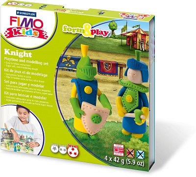 Набор для детей FIMO kids farm&play «Рыцарь»
