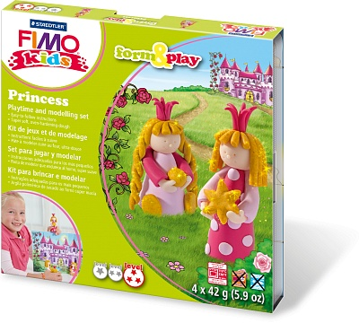 Набор для детей FIMO kids farm&play «Принцесса»