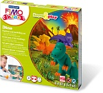 Набор для детей FIMO kids farm&play «Дино»