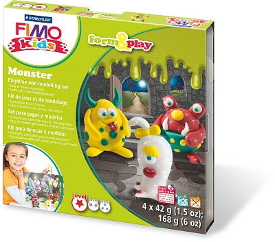 Набор для детей FIMO kids farm&play «Монстр»
